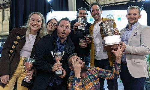 Unbridled Joy For Blasta At Perth Royal Beer Awards
